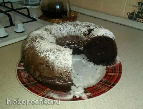 Шоколадно-черный кекс Шоколадно-черный кекс