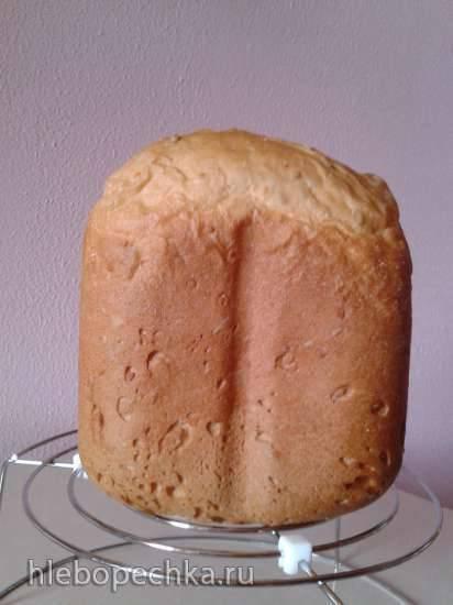 Gorenje BM 900 WII. Простой белый хлеб с семенами льна, кунжута и подсолнечника