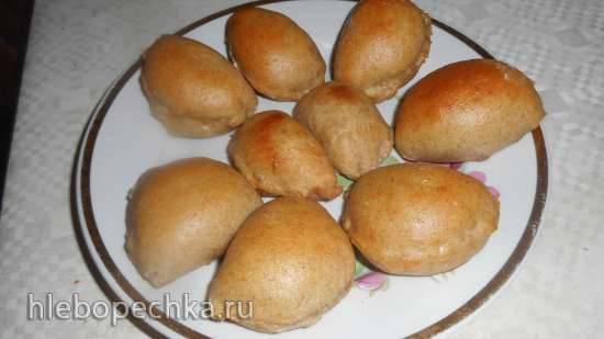 Пирожки диетические с капустой (тесто и начинка с использованием псиллиума) Пирожки диетические с капустой (тесто и начинка с использованием псиллиума)
