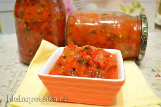 Соус овощной, многофункциональный (на каждый день и консервирование) Соус овощной, многофункциональный (на каждый день и консервирование)