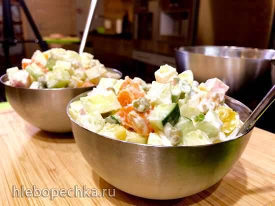Салат с грушей (овощерезка Status 108075/102)