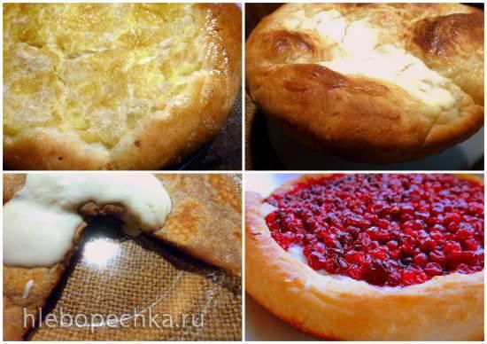 """Конкурс от Steba """"Блюда из духовки"""" Шаньги - деревенские, с картошкой и толокном, с брусникой и наливные."""