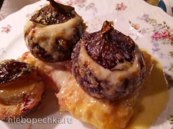 Десерт с инжиром и не только по мотивам рецепта Джейми Оливера