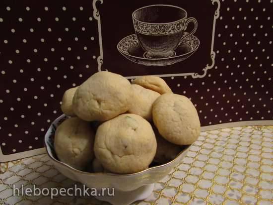 Карамельное печенье с цукатами