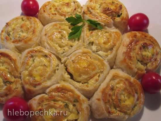 Отрывной пирог закусочный и десертный(два варианта)