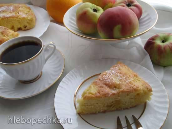 """Конкурс от Steba """"Блюда из духовки"""" Пирог яблочно-апельсиновый с имбирной ноткой"""