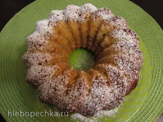 """Конкурс от Steba """"Блюда из духовки"""" Яблочный кекс-пирог со сладкими творожными сырками(без масла)"""