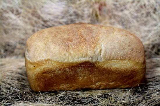Пшеничный хлеб на молочно-кислой закваске методом старого теста (базовый рецепт)