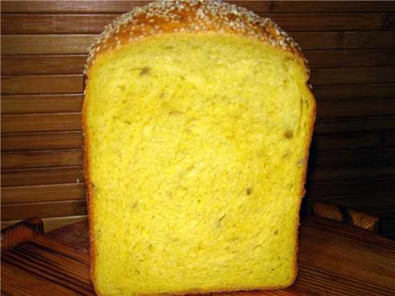 Кукурузный хлеб с зерновой смесью Хеллас Лазарус