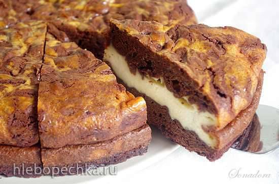 Шоколадный пирог с маскарпоне Шоколадный пирог с маскарпоне