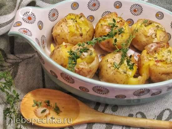 Картофель в травах и специях, запеченный дважды Картофель в травах и специях, запеченный дважды