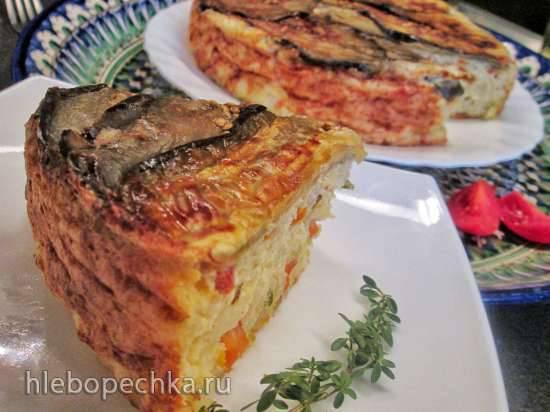 Овощное суфле с пшеном
