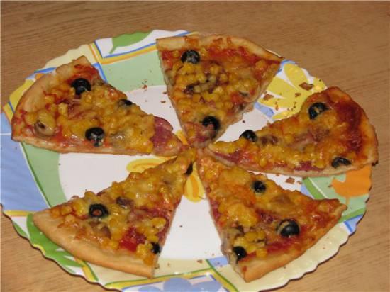 Пицца (инструкция к хлебопечке)