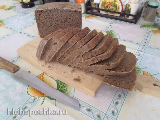 Panasonic 255. Ржаной хлеб на закваске