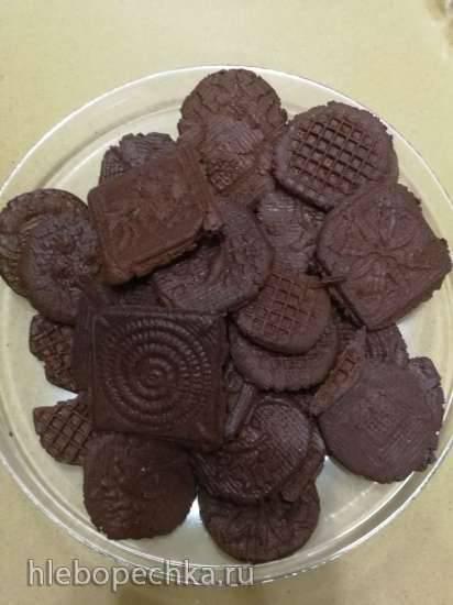 Шоколадные крекеры Шоколадные крекеры