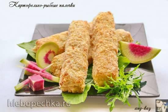 Картофельно-рыбные палочки