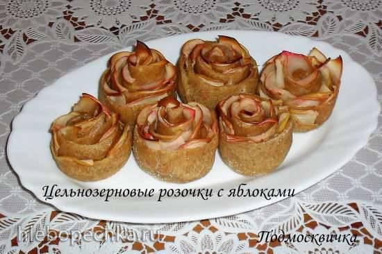 """Конкурс от Steba """"Блюда из духовки"""" Цельнозерновые розочки с яблоками"""