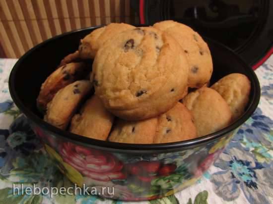 Солёное печенье с шоколадными каплями