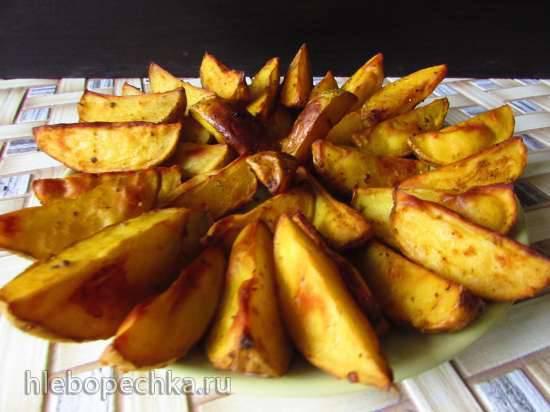 """Конкурс от Steba """"Блюда из духовки"""" Золотистый картофель, запечённый в букете специй"""