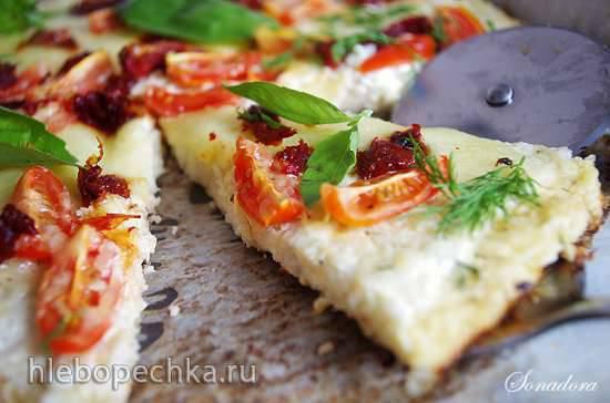 """Конкурс от Steba """"Блюда из духовки"""" Пицца на основе из цветной капусты"""