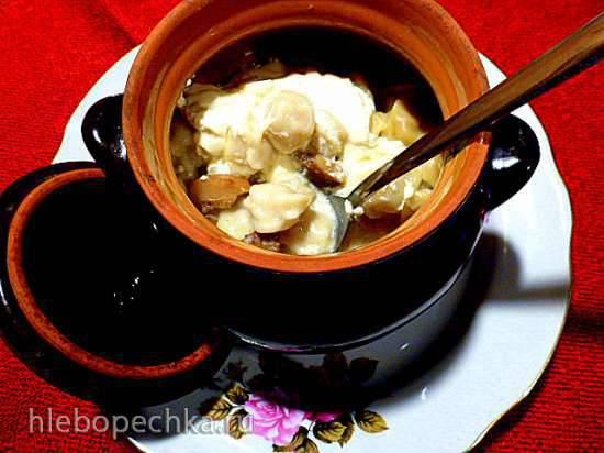 """Конкурс от Steba """"Блюда из духовки"""" Пельмени с солеными рыжиками в сметанно-горчичной заливке"""