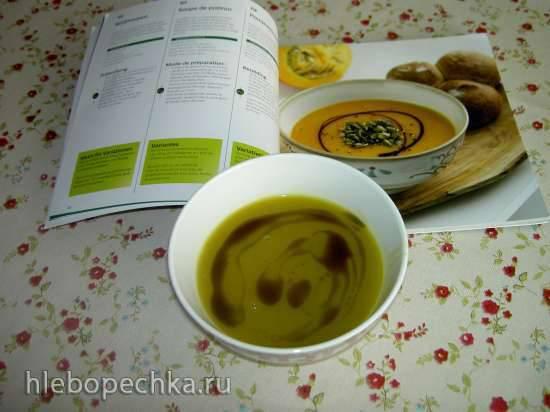 Тыквенный суп с вермишелью
