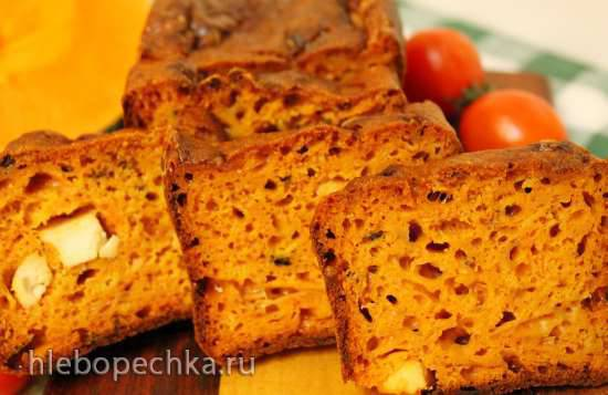Кекс тыквенный пряный Тыквенный сырный кекс с томатами и базиликом