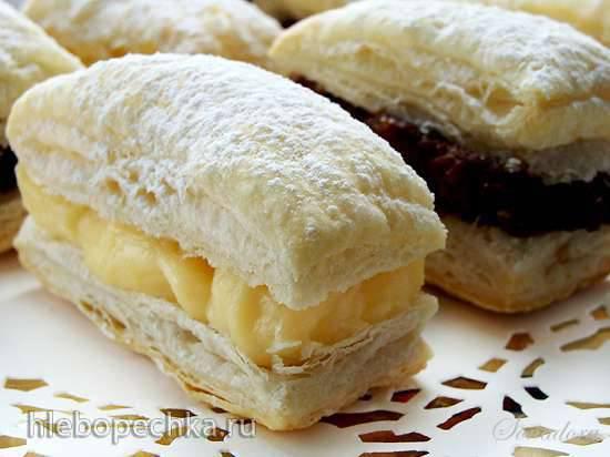 Итальянское пирожное Споркамусс с кремом (Sporcamuss alla crema) Итальянское пирожное Споркамусс с кремом (Sporcamuss alla crema)