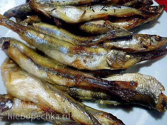 Корюшка сахалинская, запеченная в духовке, как профилактика остеопороза
