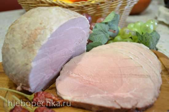 Окорок свиной, маринованный в сидре и запеченный в духовке при низкой температуре Окорок свиной, маринованный в сидре и запеченный в духовке при низкой температуре