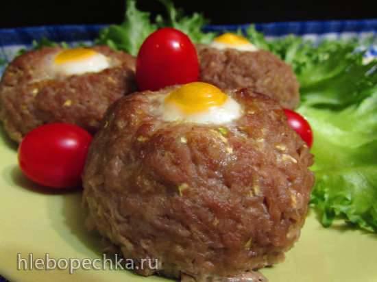 """Конкурс от Steba """"Блюда из духовки"""" Мясо-овощные котлеты с перепелиными яйцами"""