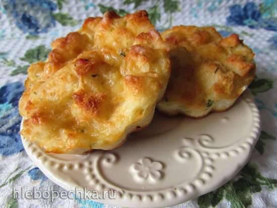 Сырные сочные мини-пирогиСырные сочные мини-пироги