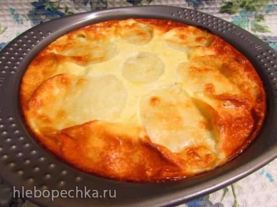 """Конкурс от Steba """"Блюда из духовки"""" Картофель, запечённый в яично-сметанной заливке с моцареллой"""