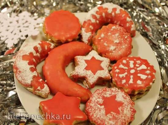 """Конкурс от Steba """"Блюда из духовки"""" Рождественское печенье майлендерли с цукатами и орехами (Mailenderli)"""