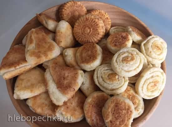 Печенье творожное (технологическая адаптация для мультипекаря Redmond) Печенье творожное (технологическая адаптация для мультипекаря Redmond)