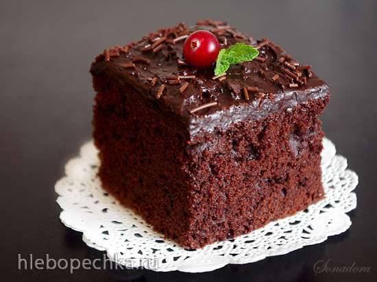 """Бразильский шоколадный кекс """"Nega maluca""""Бразильский шоколадный кекс """"Nega maluca"""""""