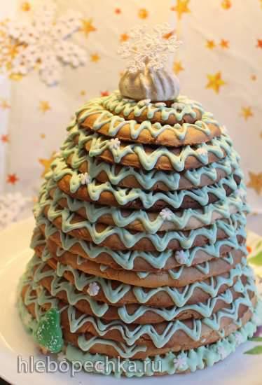 Норвежский традиционный пирог KransekakeНорвежский традиционный пирог Kransekake
