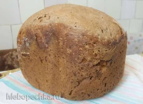 Хлеб пшенично-ржаной в хлебопечке Panasonic SD-2502