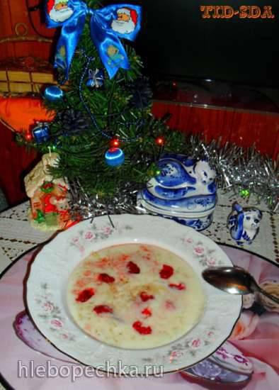 Овсяная каша по особому рецепту с фруктами