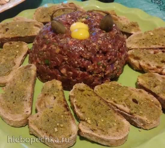Стейк Тартар (Steak tartare) из говядины Стейк Тартар (Steak tartare) из говядины