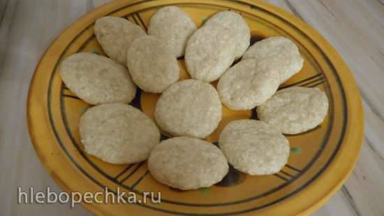 Кокосовое печенье на псиллиуме и ксантане