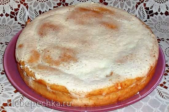 Диетический лимонный бисквит