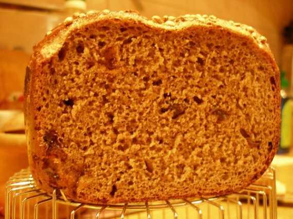 Сдобный хлеб с изюмом