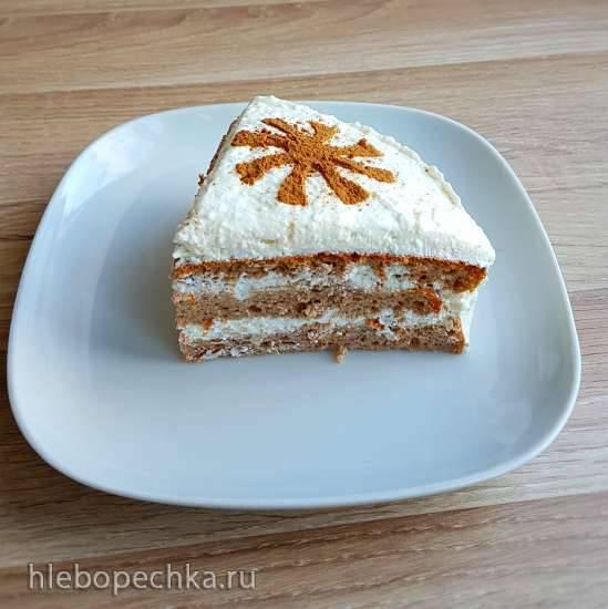 Диетический бисквитный торт