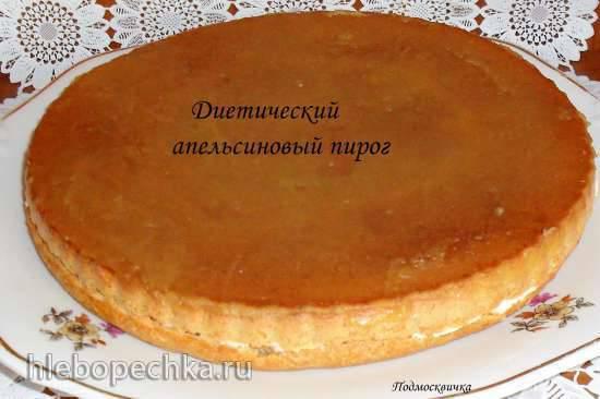 Диетический апельсиновый пирог Диетический апельсиновый пирог