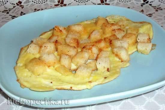 Вкусня - яичница по-старорусски