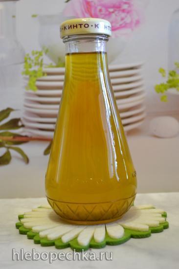 Масло льняное домашнего отжима в маслопрессе Lequip LOP- G3