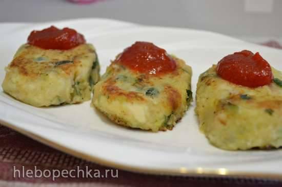 Котлеты фасолево-картофельные с зеленым луком Котлеты фасолево-картофельные с зеленым луком