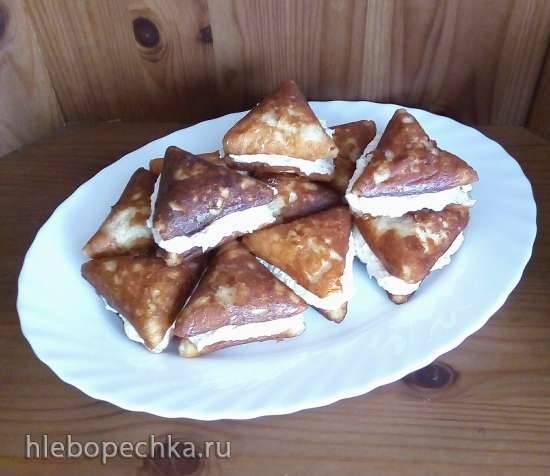 Диетические творожно-апельсиновые пирожные (Samboussa maker)
