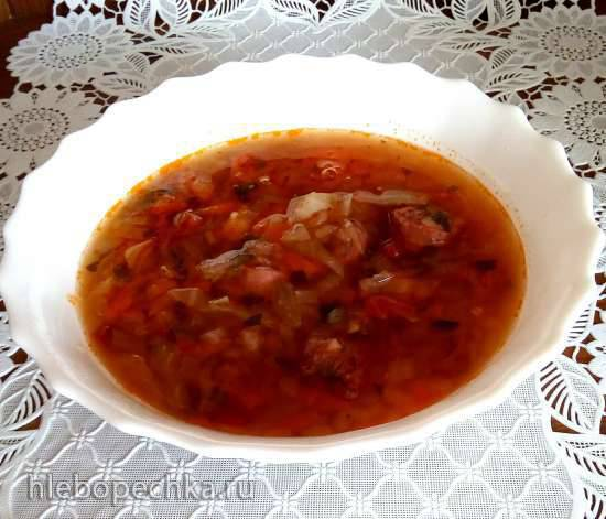 Пушта - венгерский суп